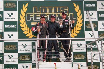 Race one podium