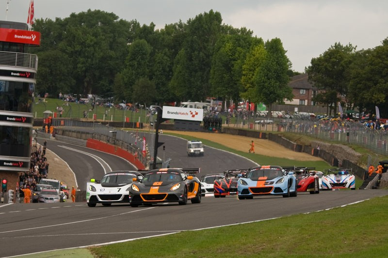 Race two gets underway