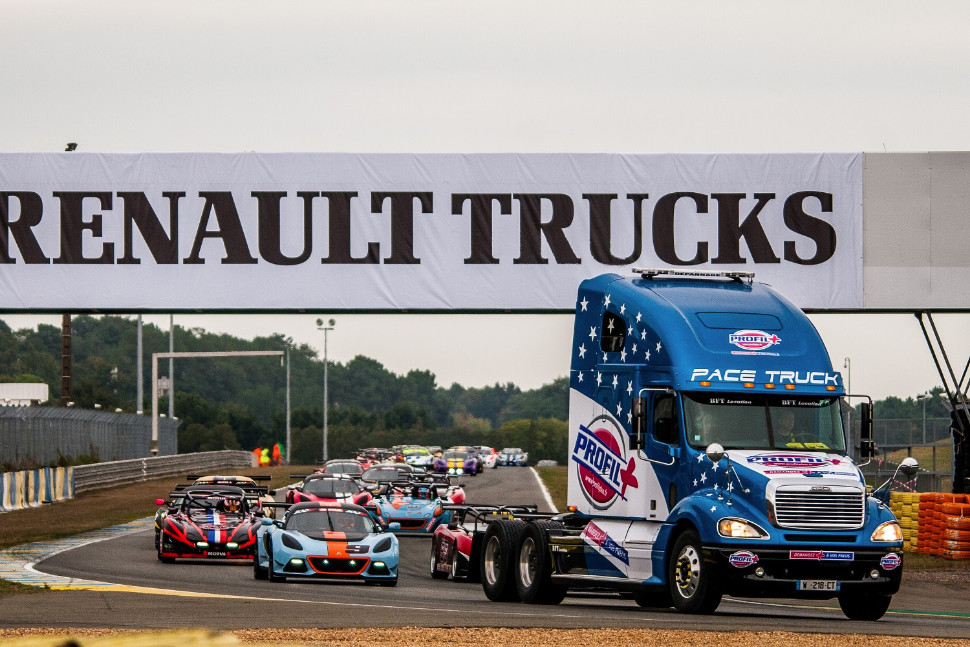 The final round of LCE supported the 24 Heures Camions at Le Mans